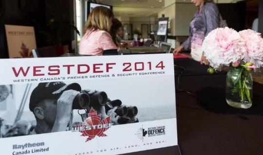 Kaycom attends WESTDEF 2014 in Calgary, Alberta