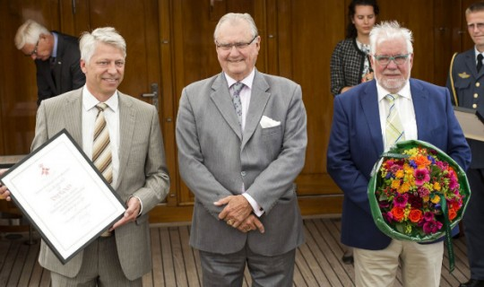 Kaycom Partner Weibel Receives Royal Award