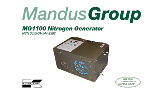 Kaycom awarded Canadian Military contract to supply/support Nitrogen Generator systems